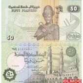 Billets De Banque Egypte Pk N� 62 - 50 Piastres