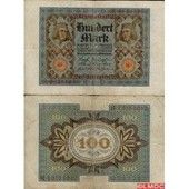 Billet De Banque De 100 Mark Pk N� 69 - Billet De Collection Europe Allemagne