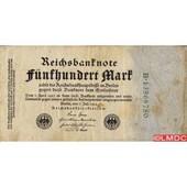 Billet De Banque Allemagne Pk N� 74 - 500 Mark