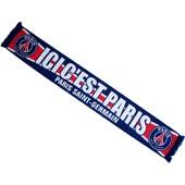 Echarpe Psg - Collection Officielle Paris Saint Germain - Blason Maillot Football - Ligue 1 - 138 Cm