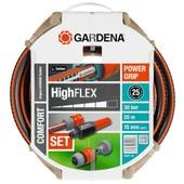 Gardena - Tuyau D'arrosage Highflex � 15 Mm - 20 M + Lance Et Raccords