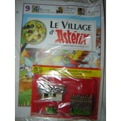 Le Village Asterix Edition Atlas N� 9 : Idefix + Maison Obelix + Palissade