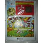 Le Village Asterix Edition Atlas N� 27 : Obelix + 2 Chevaux Du Char + Palissade
