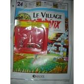 Le Village Asterix Edition Atlas N� 24 : Maestria Au Banquet + Feu + Sanglier