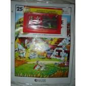 Le Village Asterix Edition Atlas N� 25 : 2 Danseurs + 2 Bancs + Palissade