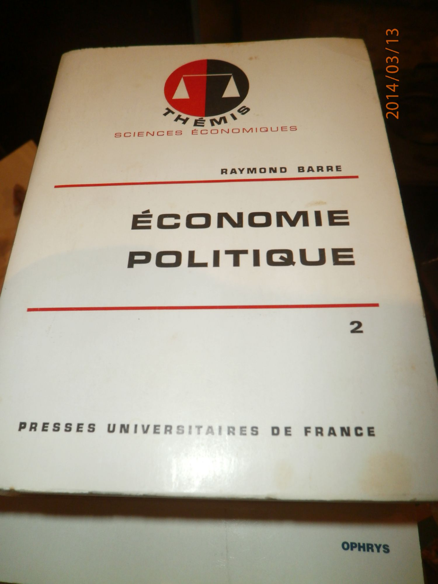 Economie politique - Presses Universitaires de France (PUF) - 05/06/1988