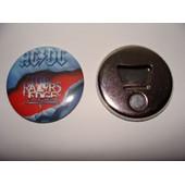 Metal Rock Magnet Aimant Frigo Decapsuleur Ac Dc