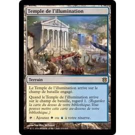 Temple De L'illumination 163 Magic Mtg Cr�ations Divines Vf