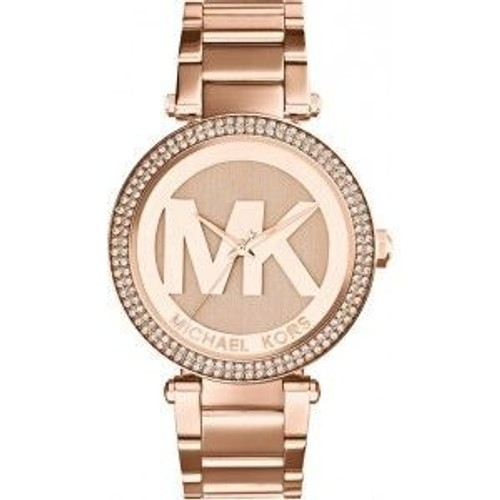 Montre Femme Michael Kors Parker MK5865 Bracelet or rose en acier inoxydable
