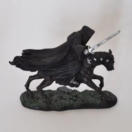 Cavalier Noir Au Galop. Hors S�rie. Eaglemoss.2004. Plomb