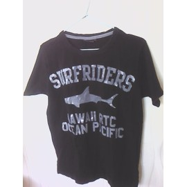 T-Shirt Ritchie Imprim� Requin