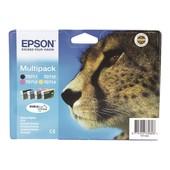 Epson Multipack - Noir, Jaune, Cyan, Magenta - Original - Cartouche D'encre - Pour Stylus Dx9400, Sx115, Sx210, Sx215, Sx218, Sx415, Sx515, Sx610; Stylus Office Bx310, Bx610