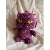 Peluche Doudou Chat Violet Monster High