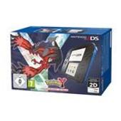Nintendo 2ds Noir / Bleu + Pokemon Y - Console Nintendo 2ds + Carte M�moire Sdhc 4 Go + Adaptateur Secteur + Pokemon Y