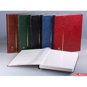 Classeurs Timbres Edelweis 48 Pages Blanches - Vert