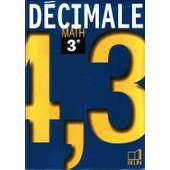 D�cimale, 3e - Math de Nicole P�ne