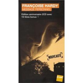 rare plv cartonnée rigide 14x25cm fnac FRANCOISE HARDY message personnel edition 2013