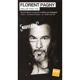 plv 14x25cm rigide cartonnée magasins fnac FLORENT PAGNY vieillir avec toi 2013