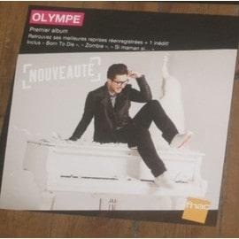 plv 30x30cm souple magasins fnac OLYMPE premier album 2013
