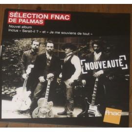 plv 30x30cm souple magasins fnac GERALD DE PALMAS nouvel album 2013