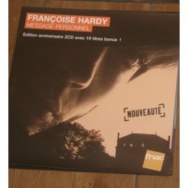 plv 30x30cm souple magasins fnac FRANCOISE HARDY message personnel 2013