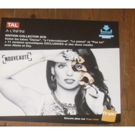 plv souple 30x30cm magasins fnac TAL a l'infini EDITION COLLECTOR 2013 alizee