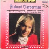 Disque D'or Volume 3 - Richard Clayderman