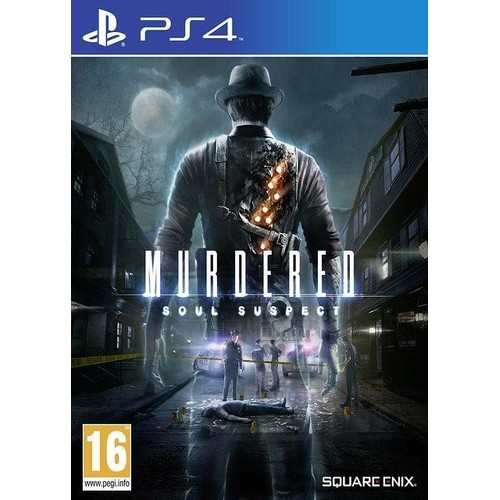 Square Enix Murdered: Soul Suspect PlayStation 4