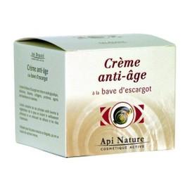 Cr�me Anti-Age � La Bave D Escargot Api-Nature
