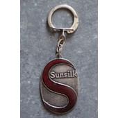 Porte-Cl� ( Clef / Cl� - Keyring ) Publicitaire M�tallique : Sunsilk / Laques Souples Sunsilk