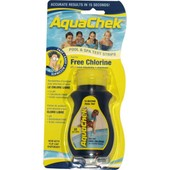 Aquachek - 50 Bandelettes Test Pour Chlore Libre Aquaclph Yellow