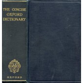 The Concise Oxford Dictionary Of Current English de FOWLER F. G.