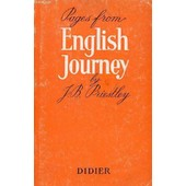 Pages From 'english Journey' de PRIESTLEY J. B.