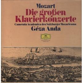 Die großen Klavierkonzerte, Geza Anda (MIT 4X12'-MOZART-POSTER)[MIT 4X12'-MOZART-POSTER]