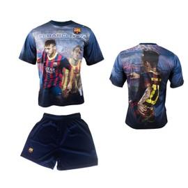 Maillot + Short Bar�a Neymar Junior - N� 11 - Collection Officielle Fc Barcelone - Fc Barcelona - Football - Taille Enfant Gar�on