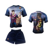 Maillot + Short Bar�a Neymar Junior - N� 11 - Collection Officielle Fc Barcelone - Fc Barcelona - Football - Taille Enfant Gar�on