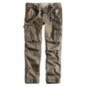 Pantalon Treillis Cargo Camouflage Woodland Leger Premium Slim Surplus Vintage