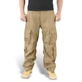 Pantalon Treillis Airborne Vintage Beige Sable Surplus S&t75