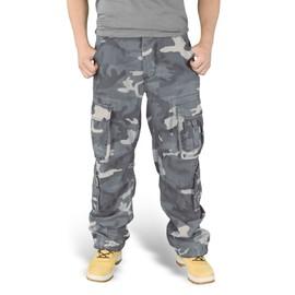 Pantalon Treillis Airborne Vintage Camouflage Nuit Surplus S&t75