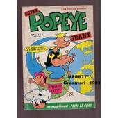 Popeye Super G�ant - En Suppl�ment F�lix Le Chat N� 2 - Trimestriel 1983