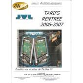 Tarif Revue Professionnelle Des Jeux De Bar Et Salle De Jeux(Flippers, Borne D'arcade Et Jeux Vid�o ...)