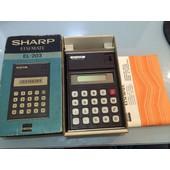 Calculatrice Sharp El-203