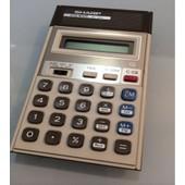 Calculatrice Sharp El-404