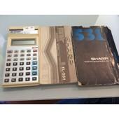 Calculatrice Sharp El-531