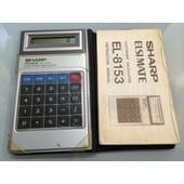 Calculatrice Sharp El-8153