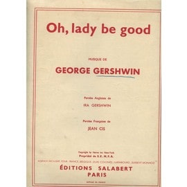 oh, lady be good de george gershwin