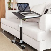 Table De Lit Pour Ordinateur Portable Avec Plateau Inclinable � Hauteur Assist�e, Fbt07n2-Sch