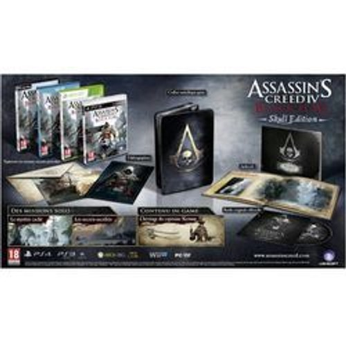 Assassin's Creed 4 Black Flag Edition Collector Skull PS4 - PlayStation 4