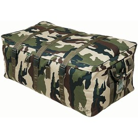 Cantine Souple 160 Litres Camouflage Ce Tissu Ripstop