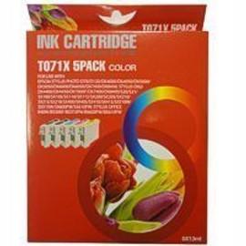 T071x 5pack Color - Jaune,Cyan,Magenta + 2 Black